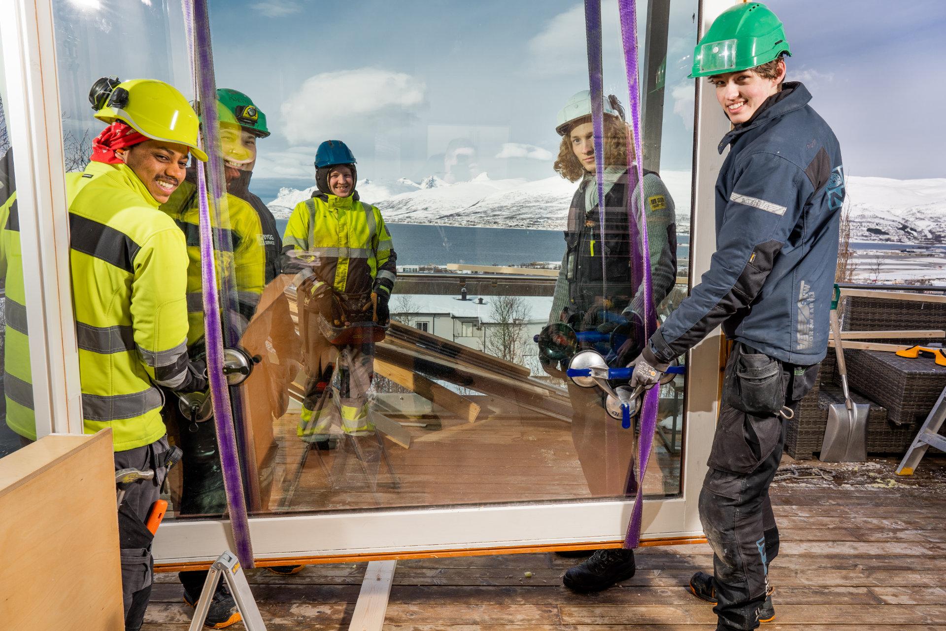 Renovering i Nøkken Tromsø